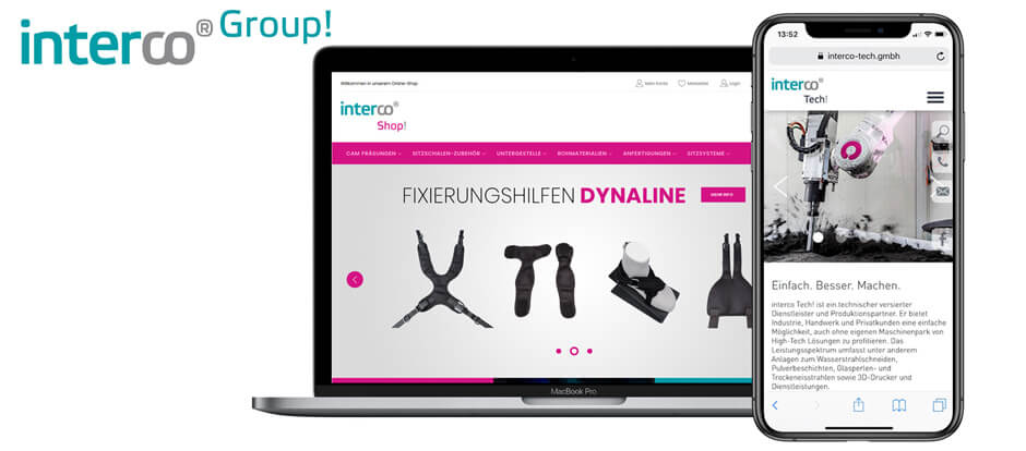 interco Webshop Referenz